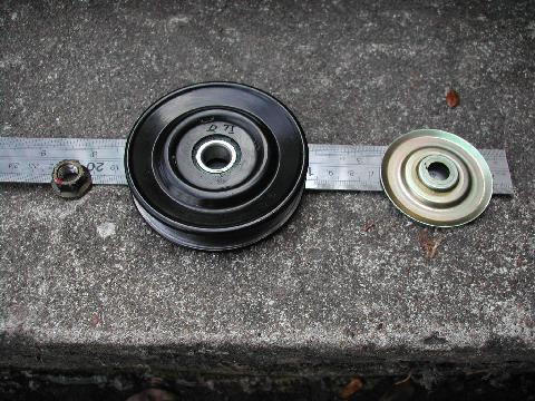 Pajero ac pulley