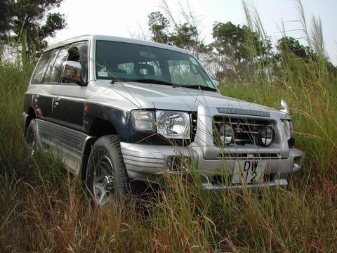 pajero offroad where she belongs