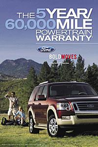 Ford Warranty Package