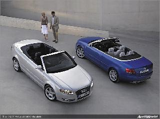 2007 S4 and A4 Cabriolets